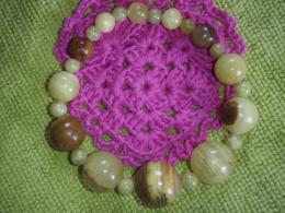Aragoniit - roheline aragoniit - käevõru