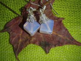 Opaliit - roosa opaliit kõrvarõngad
