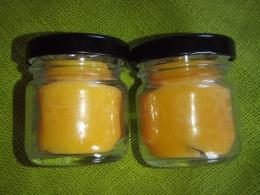 Lõhnaküünal - kristallidega - karneool - purgis - UUS