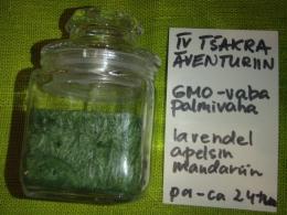 Lõhnaküünal - kristallidega - roheline aventuriin - UUS