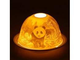 Feng Shui portselanist küünlalatern - Panda - UUS - TALVINE ALLAHINDLUS