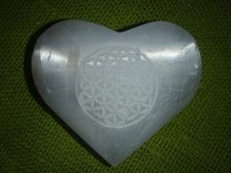 Seleniit - imekaunis süda - pihukivi - Elulill - UUS