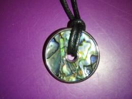 Abalone pärlikarp - kaunis ripats - KEVADINE ALLAHINDLUS