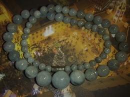Akvamariin - helmestest kaelakee