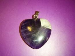 Ametüst - ripats - süda