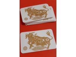 Amulett - Roti aasta rahakaart - Kuldne Pühvel - UUS