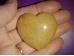 Aventuriin - aprikoosivärvi aventuriin - lihivitud süda 4 cm