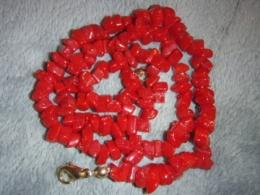 Manmade stone - kaunis punasest kivist kaelakee - ALLAHINDLUS
