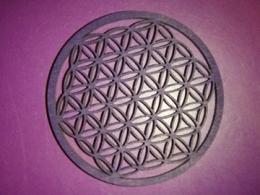 Riputamiseks - Elulill - vineerist - 6 cm - lilla - ALLAHINDLUS