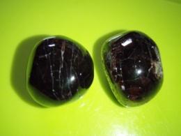 Granaat - AA kvaliteet - lihvitud - almandiin