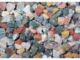 Erinevad poolvääriskivid - India - komplekt töötlemata kividest - ALLAHINDLUS