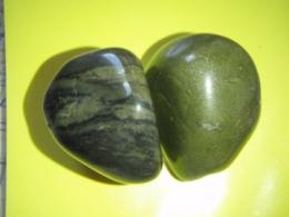 Jaspis - roheline jaspis - lihvitud