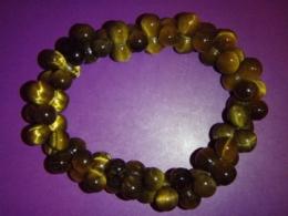 Tiigrisilm - kuldne tiigrisilm - käevõru - DNA