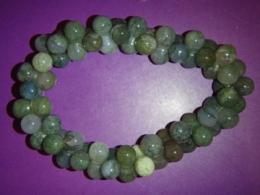 Ahhaat - roheline sammalahhaat - käevõru - DNA - JUUBELIALLAHINDLUS
