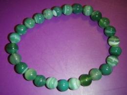 Ahhaat - käevõru - roheline