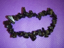Obsidiaan - must obsidiaan -  käevõru