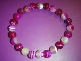 Ahhaat - käevõru - roosa