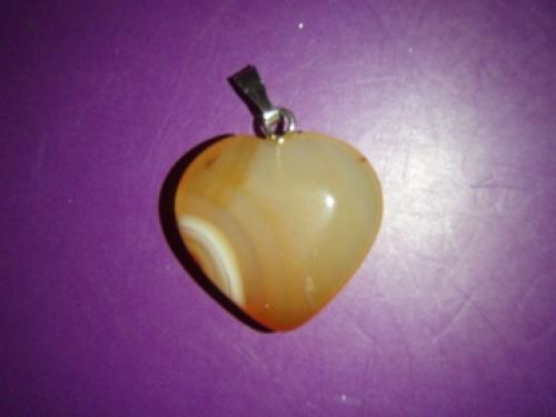 da832055d5f Karneool - südamekujuline ripats - VIIMANE