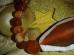 Karneool - lihvitud helmestest käevõru
