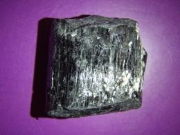 Turmaliin - must turmaliin e schorl - töötlemata