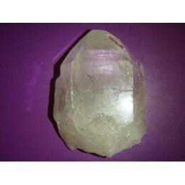 Mäekristall  - naturaalne töötlemata tipp