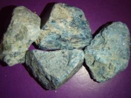 Apatiit - sinine - töötlemata