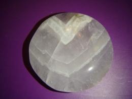 Ametüst - lihvitud ümar kivi