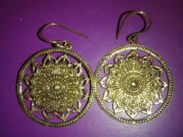 Kõrvarõngad - Lootos Mandala - kuldsed - KEVAD-SUVINE ALLAHINDLUS