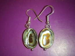 Abalone pärlikarp - kõrvarõngad