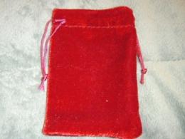 Kott - sametkott - punane