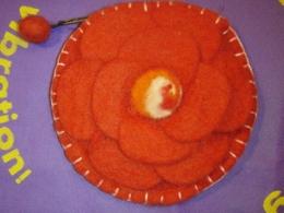 Vildist kott - lillega - punane - ALLAHINDLUS