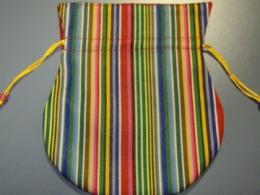 Kott - triibuline voodriga kott