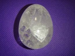 Mäekristall - imekaunis lihvitud muna - ALLAHINDLUS