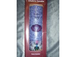 Tšakra-lõhnaküünal  - 6. tšakra - klaaspurgis - 100 h