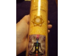Tšakra-lõhnaküünal  - 2. tšakra - klaaspurgis