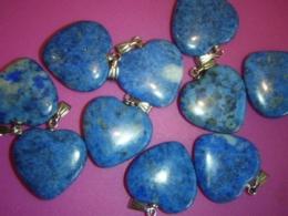 Lasuriit (Lapis Lazuli) - ripats - Süda