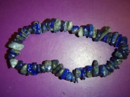 Lasuriit (Lapis Lazuli) - tsipsidest käevõru