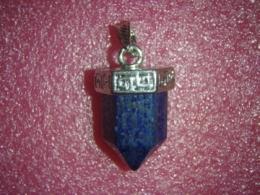 Lasuriit (Lapis Lazuli) - pliiatsikujuline ripats - ALLAHINDLUS