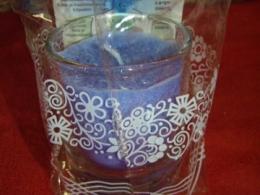 Lõhnaküünal - kristallidega