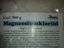 Magneesiumkloriid - jalavannideks - 100 g - nn proovipakk!