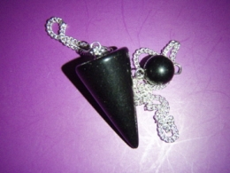 Obsidiaan - must obsidiaan - pendel