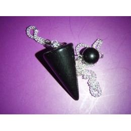 Obsidiaan - must obsidiaan - pendel - VIIMANE