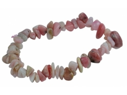 Opaal - roosa opaal - käevõru