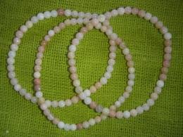 Opaal - roosa opaal - käevõru - UUS