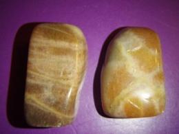 Põldpagu - kuldne päevakivi - lihvitud kivi