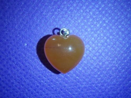c81cd29848f Karneool - südamekujuline ripats