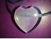 Opaliit - südamekujuline ripats - VIIMASED -