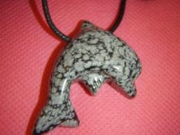 Obsidiaan - lumiobsidiaan - ripats - delfiin