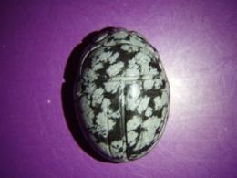 Obsidiaan - lumiobsidiaan - ripats - skarabeus