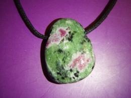 Rubiin -  rubiin tsoisiidis - ripats vahanööriga